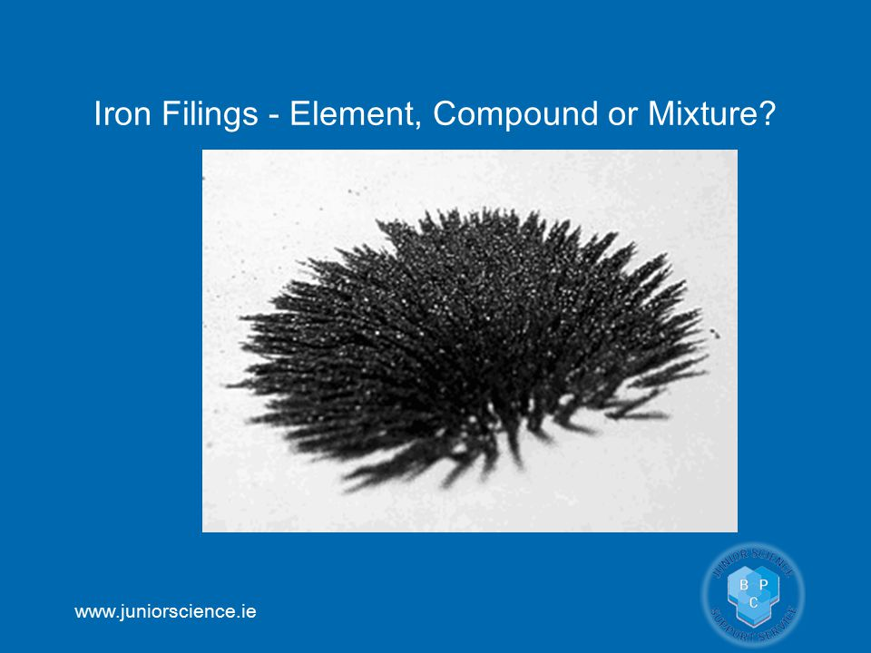 Iron Filings - Element, Compound or Mixture