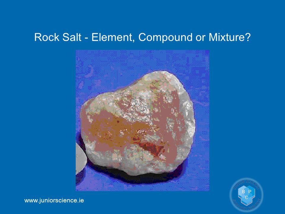 Rock Salt - Element, Compound or Mixture