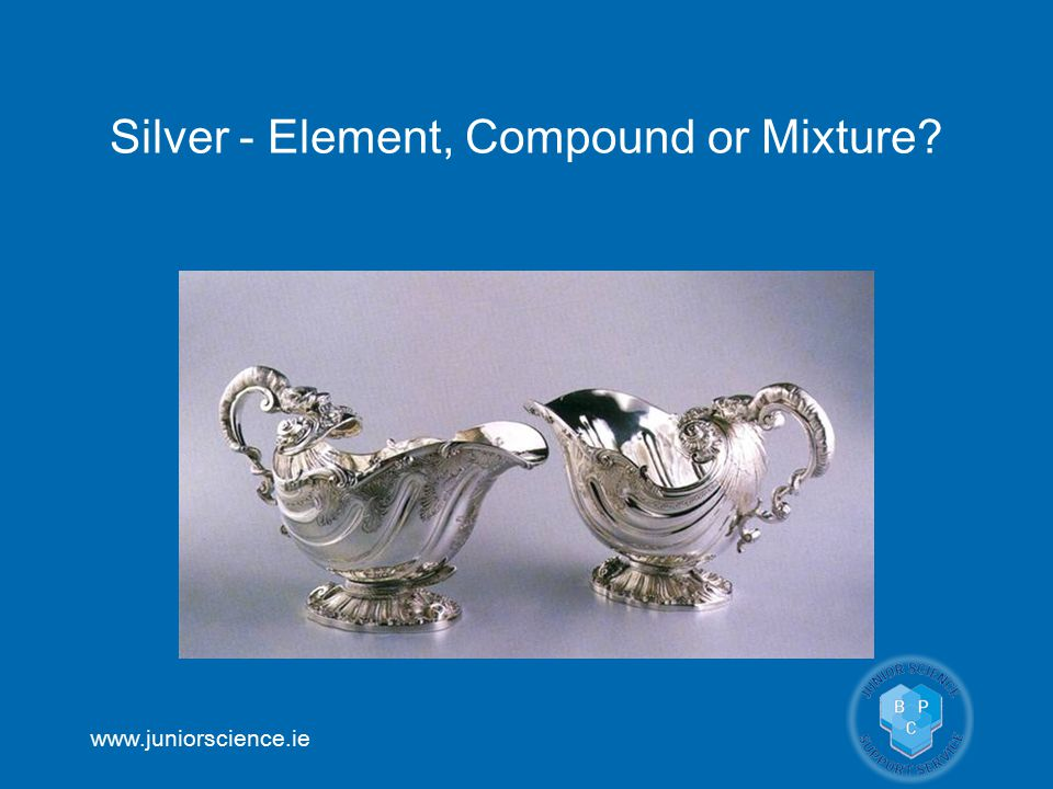 Silver - Element, Compound or Mixture