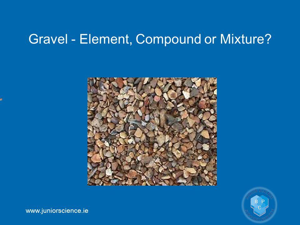 Gravel - Element, Compound or Mixture