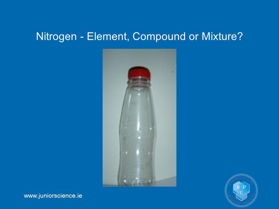 Nitrogen - Element, Compound or Mixture