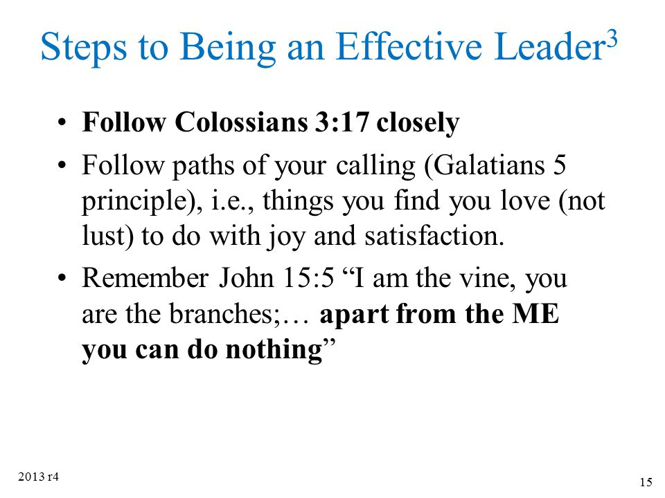 Steps to Being an Effective Leader3