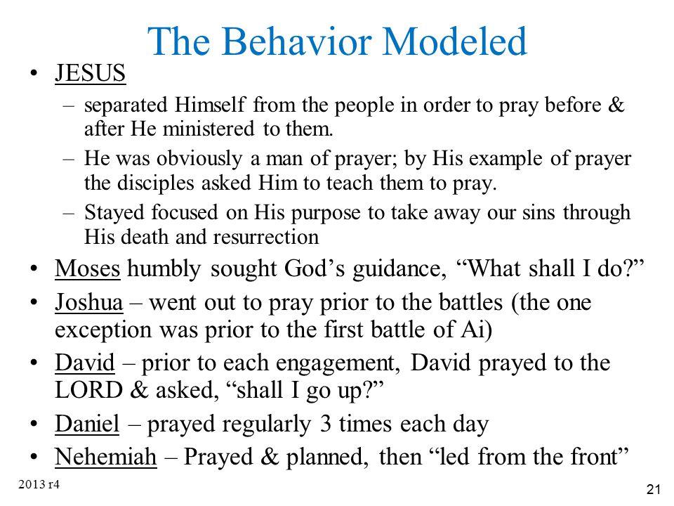 The Behavior Modeled JESUS