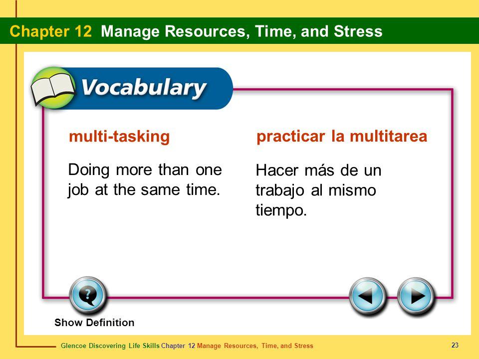 practicar la multitarea