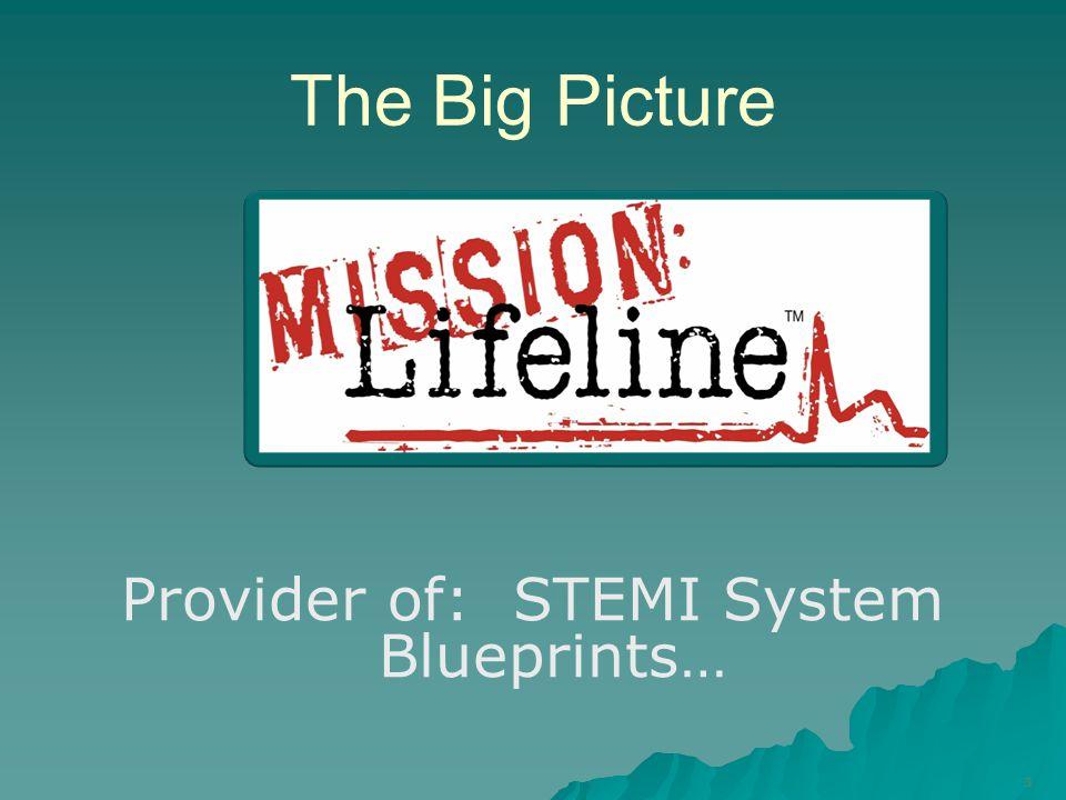 Provider of: STEMI System Blueprints…