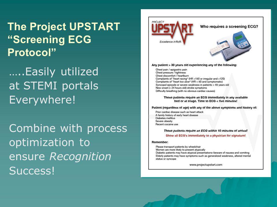 The Project UPSTART Screening ECG Protocol