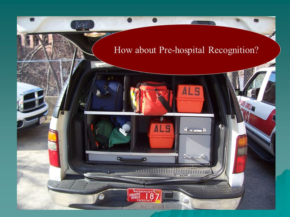 How about Pre-hospital Recognition
