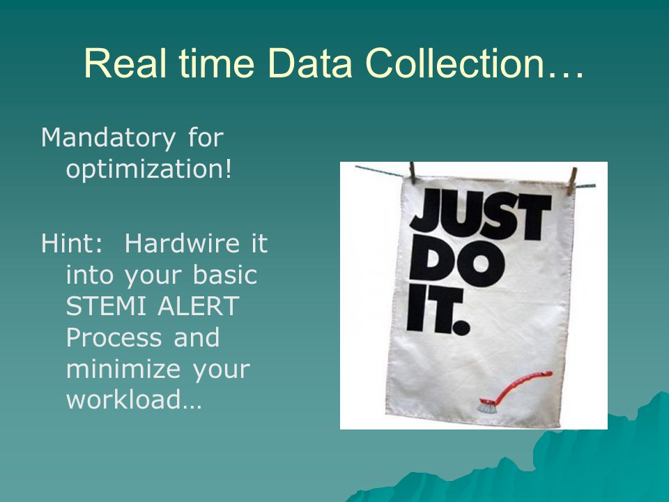 Real time Data Collection…