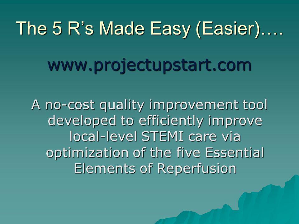 The 5 R's Made Easy (Easier)….