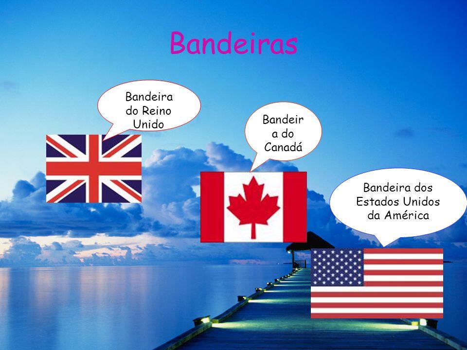 Bandeiras Bandeira do Reino Unido Bandeira do Canadá