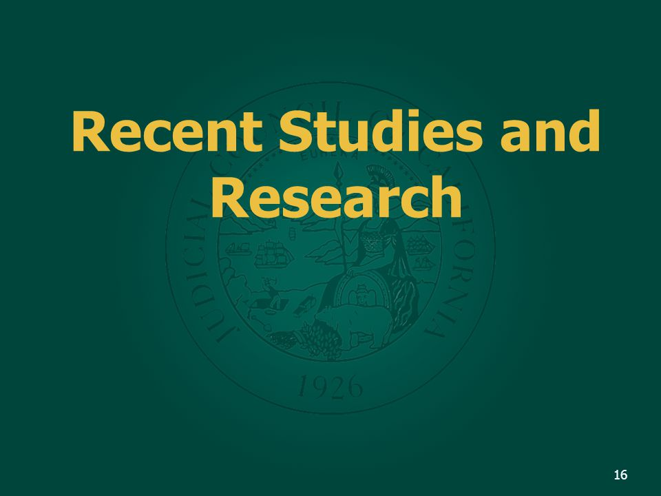 Recent Studies and Research