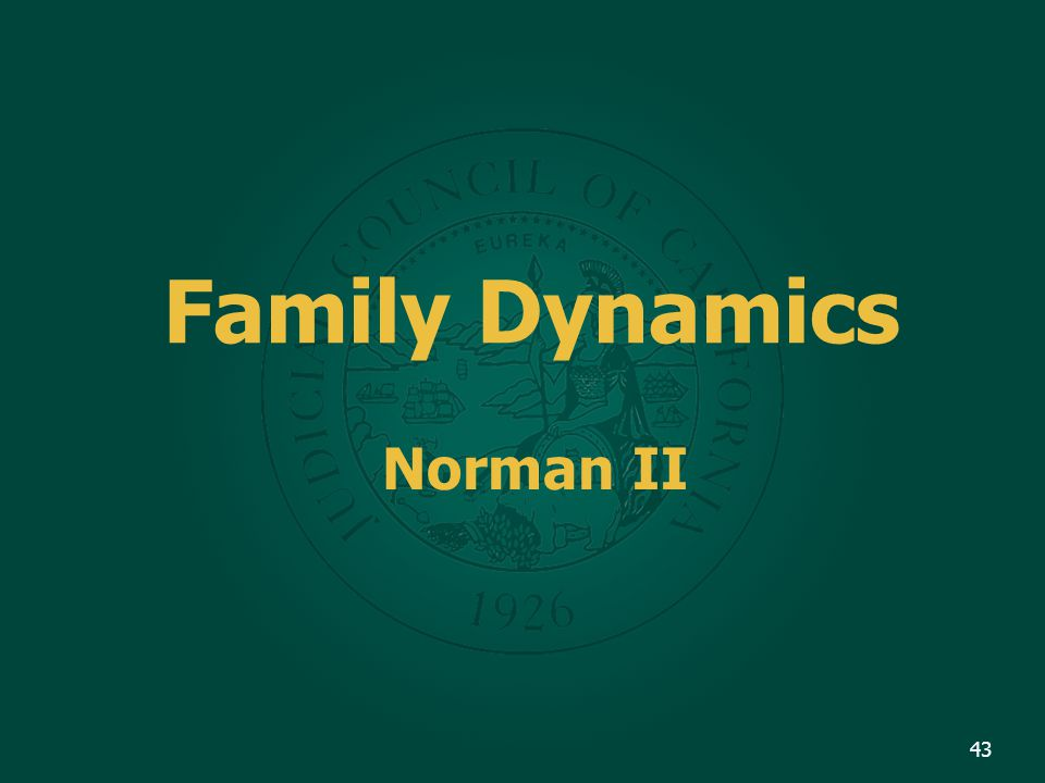 Family Dynamics Norman II