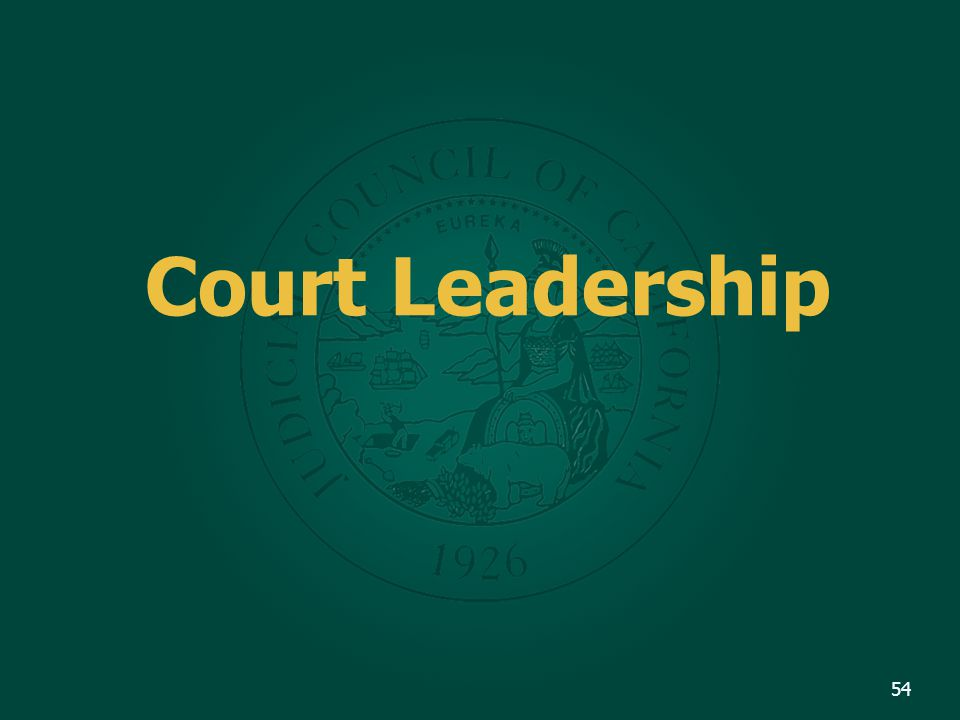Court Leadership