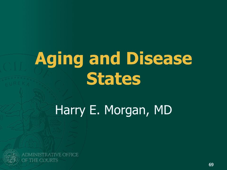 Aging and Disease States