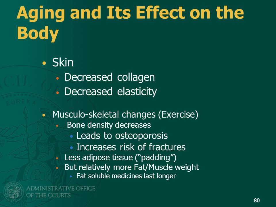 Aging and Its Effect on the Body