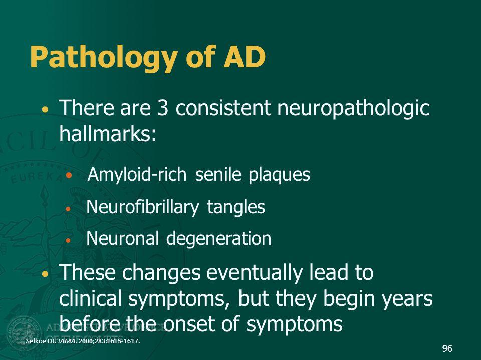 Pathology of AD Amyloid-rich senile plaques
