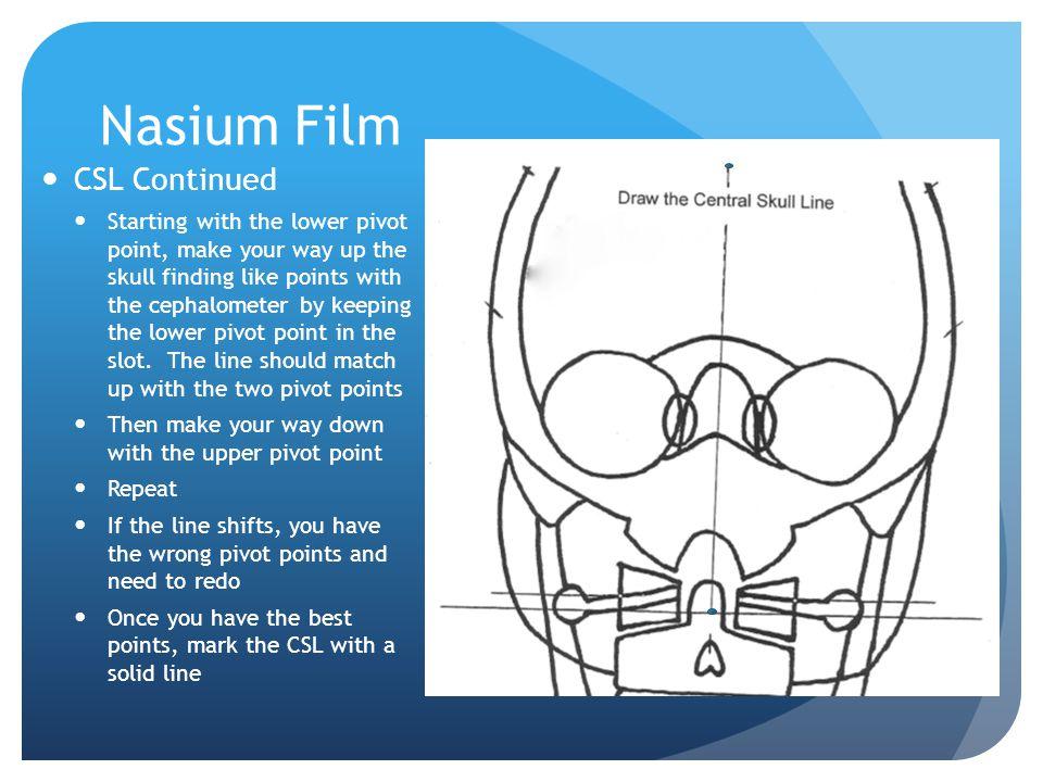 Nasium Film CSL Continued