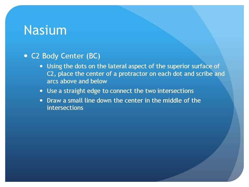 Nasium C2 Body Center (BC)