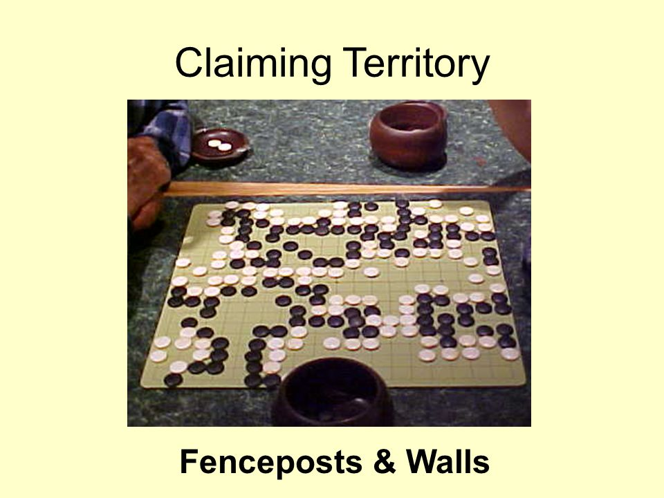 Claiming Territory Fenceposts & Walls