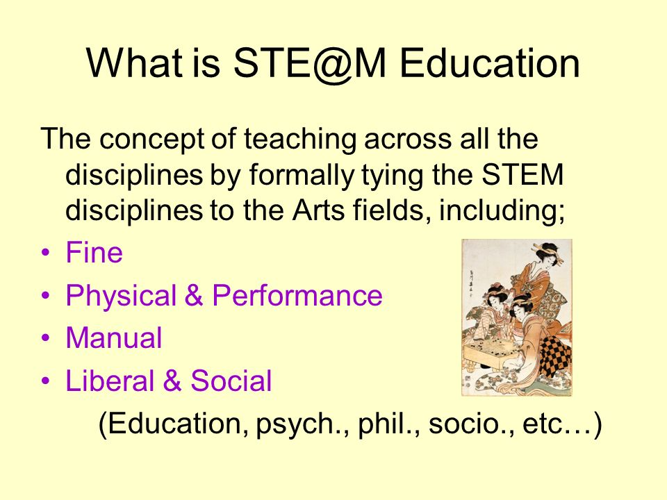 What is STE@M Education