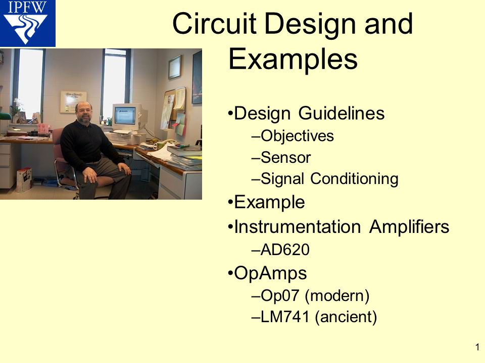 Circuit Design and Examples
