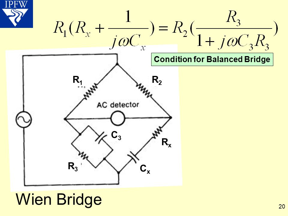 Condition for Balanced Bridge