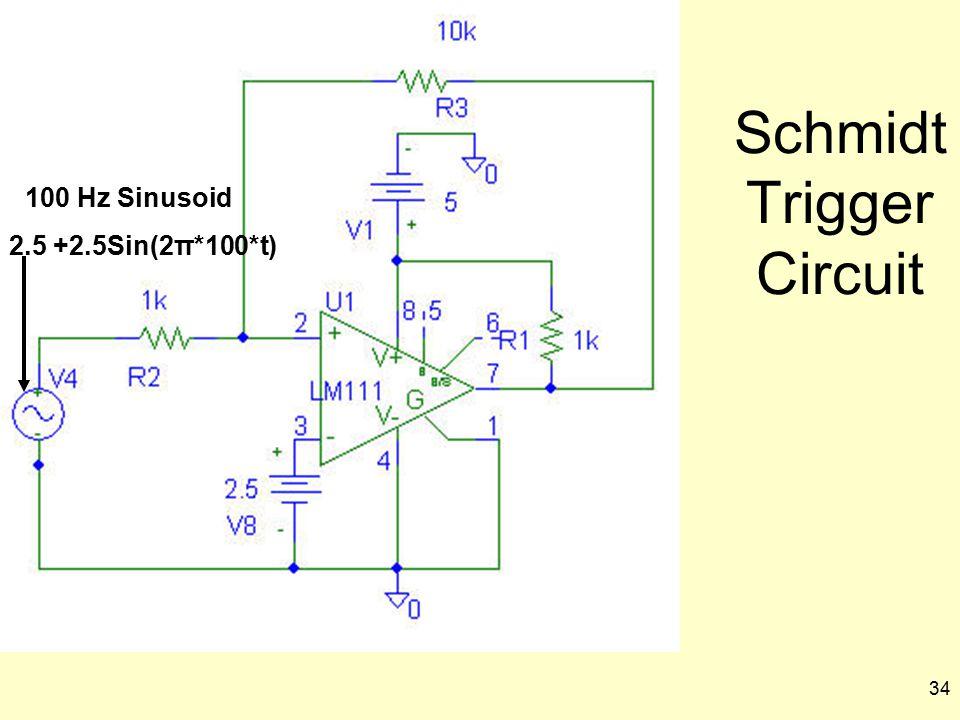 Schmidt Trigger Circuit