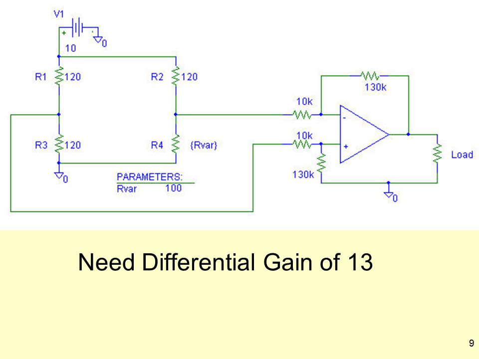 Need Differential Gain of 13