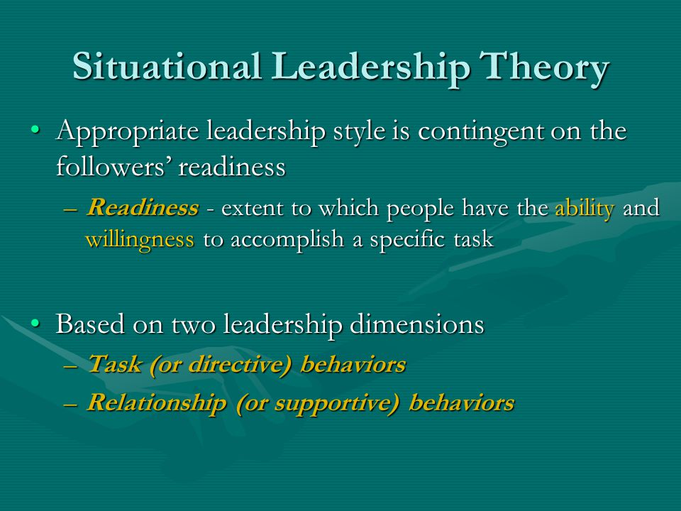 Foundations of Leadership Studies