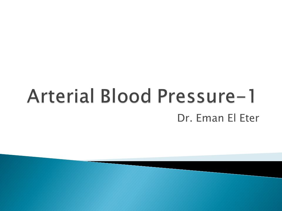 Arterial Blood Pressure-1