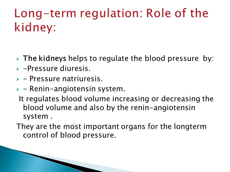 PowerPoint Slideshow about 'Short and Long term regulation of blood pressure' - kordell