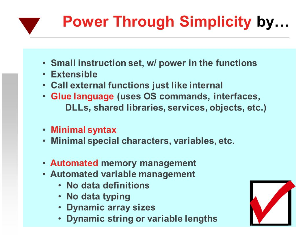 Power Through Simplicity by…