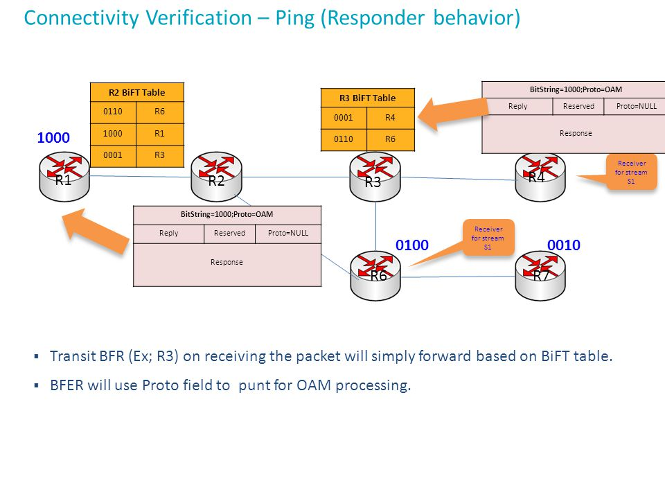 Connectivity Verification – Ping (Responder behavior)