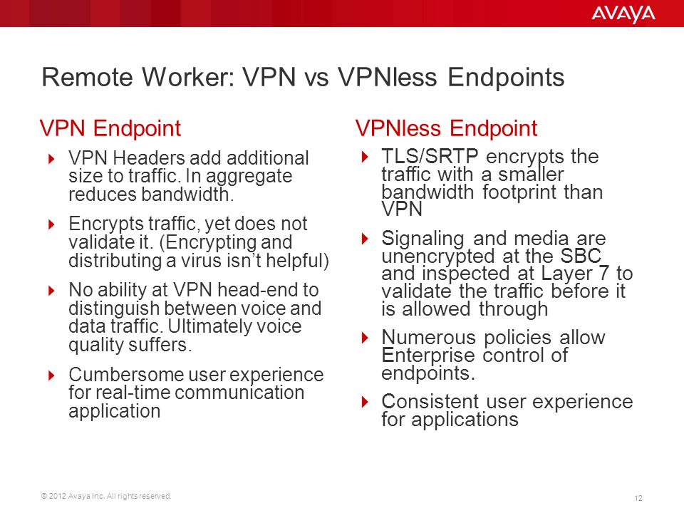 Remote Worker: VPN vs VPNless Endpoints