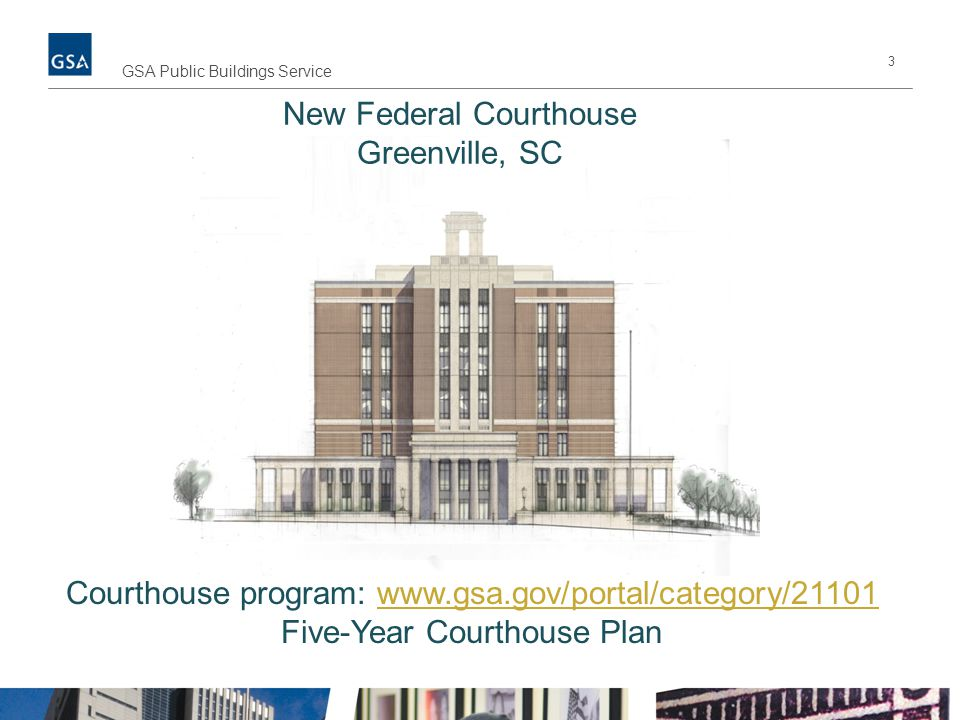 New Federal Courthouse Greenville, SC