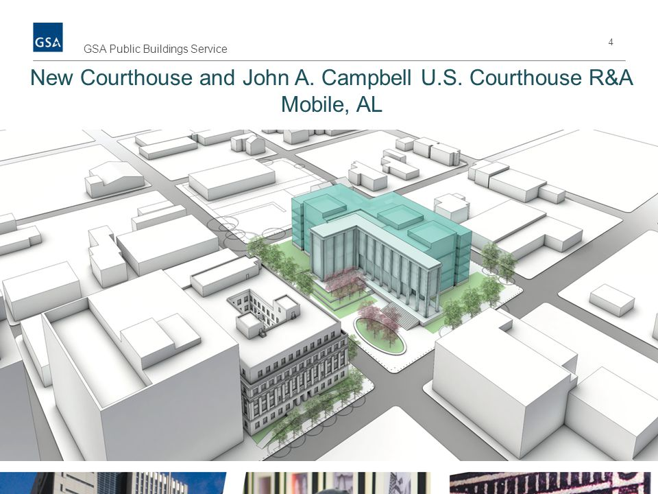 New Courthouse and John A. Campbell U.S. Courthouse R&A