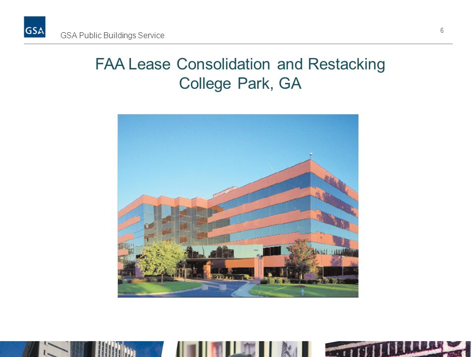 FAA Lease Consolidation and Restacking