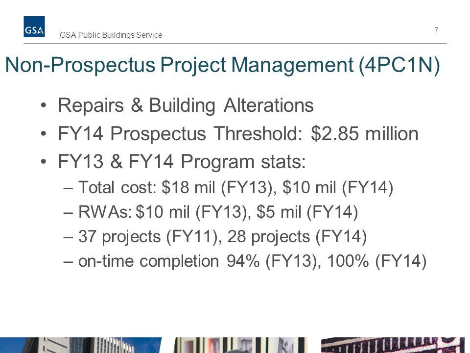 Non-Prospectus Project Management (4PC1N)