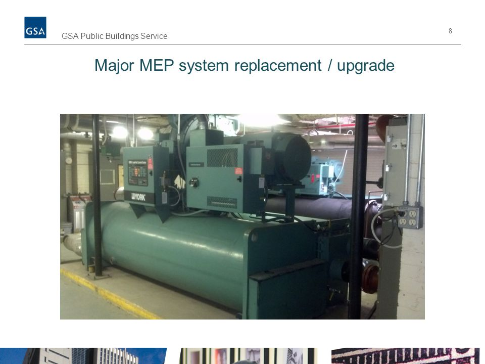 Major MEP system replacement / upgrade