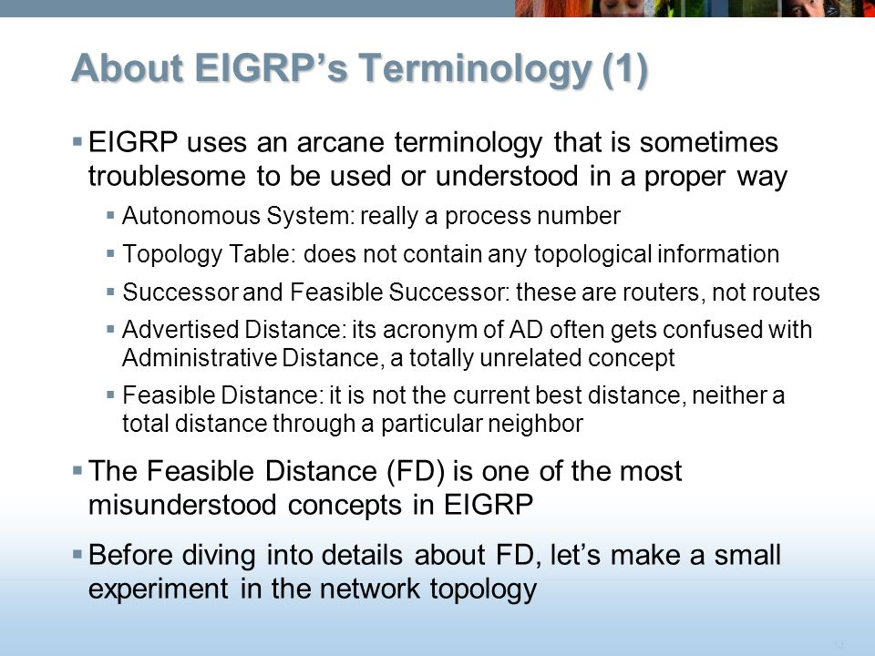 About EIGRP's Terminology (1)