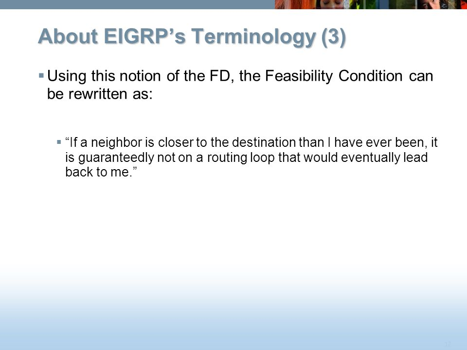 About EIGRP's Terminology (3)