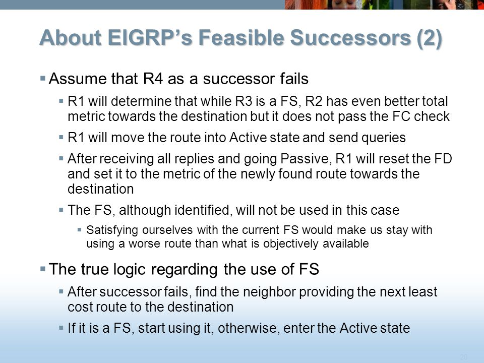 About EIGRP's Feasible Successors (2)