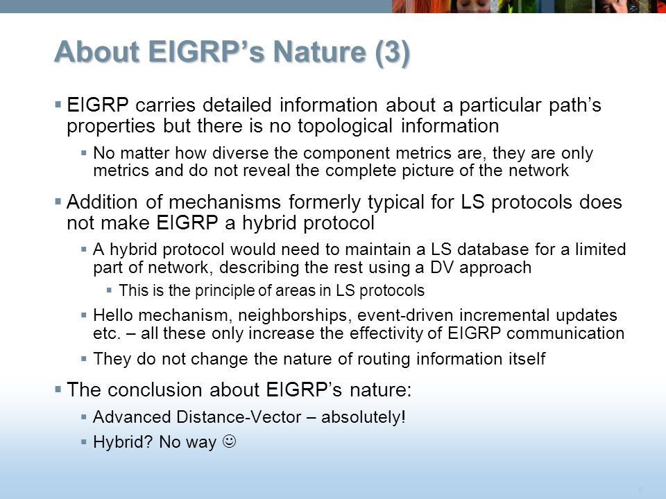 About EIGRP's Nature (3)