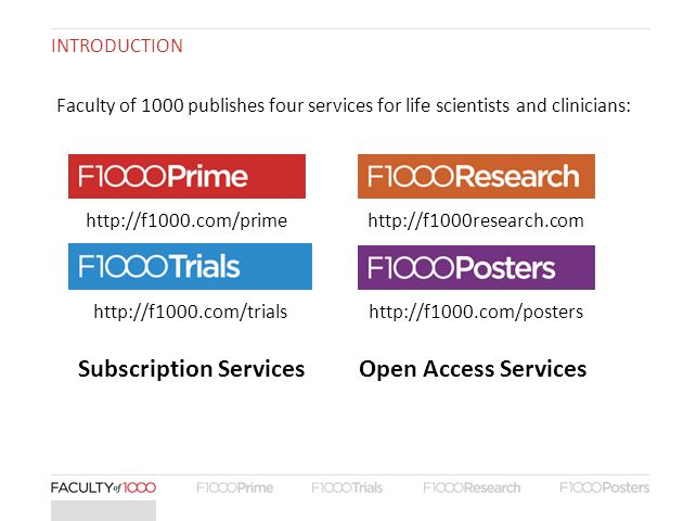 Subscription Services Open Access Services