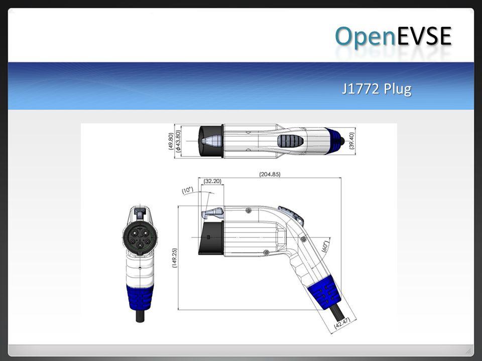 OpenEVSE J1772 Plug