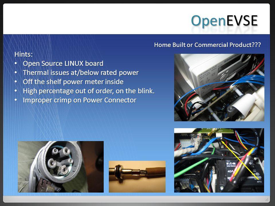 OpenEVSE Hints: Open Source LINUX board