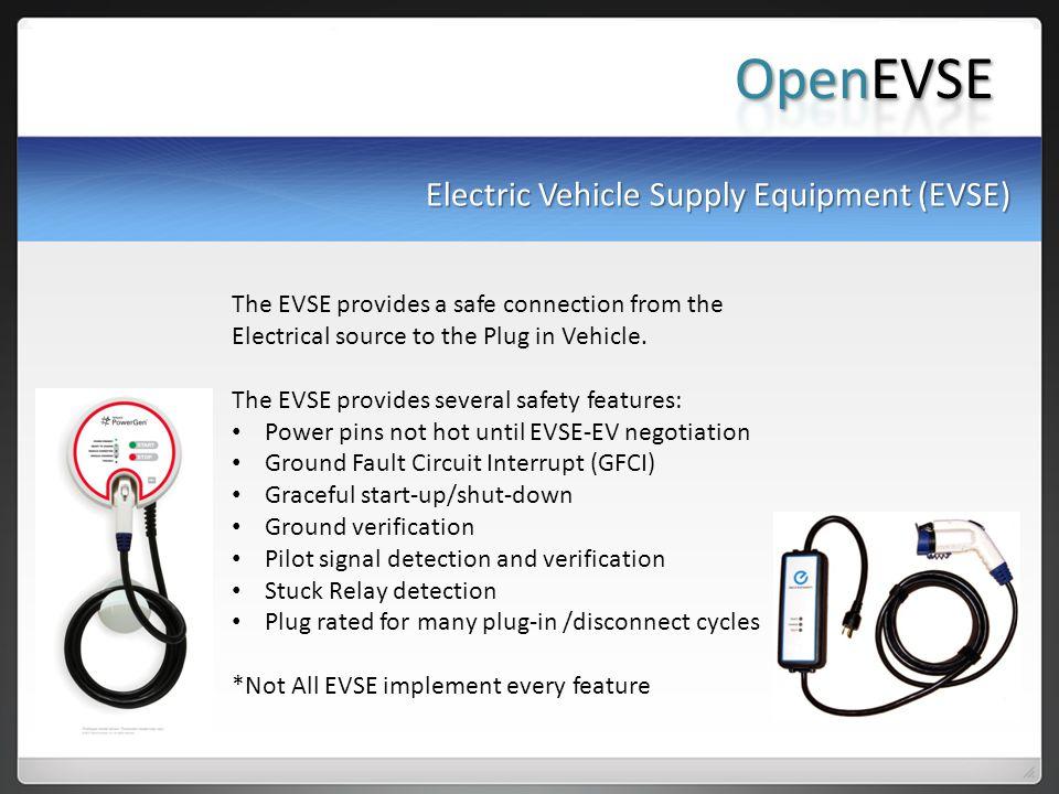 OpenEVSE Electric Vehicle Supply Equipment (EVSE)