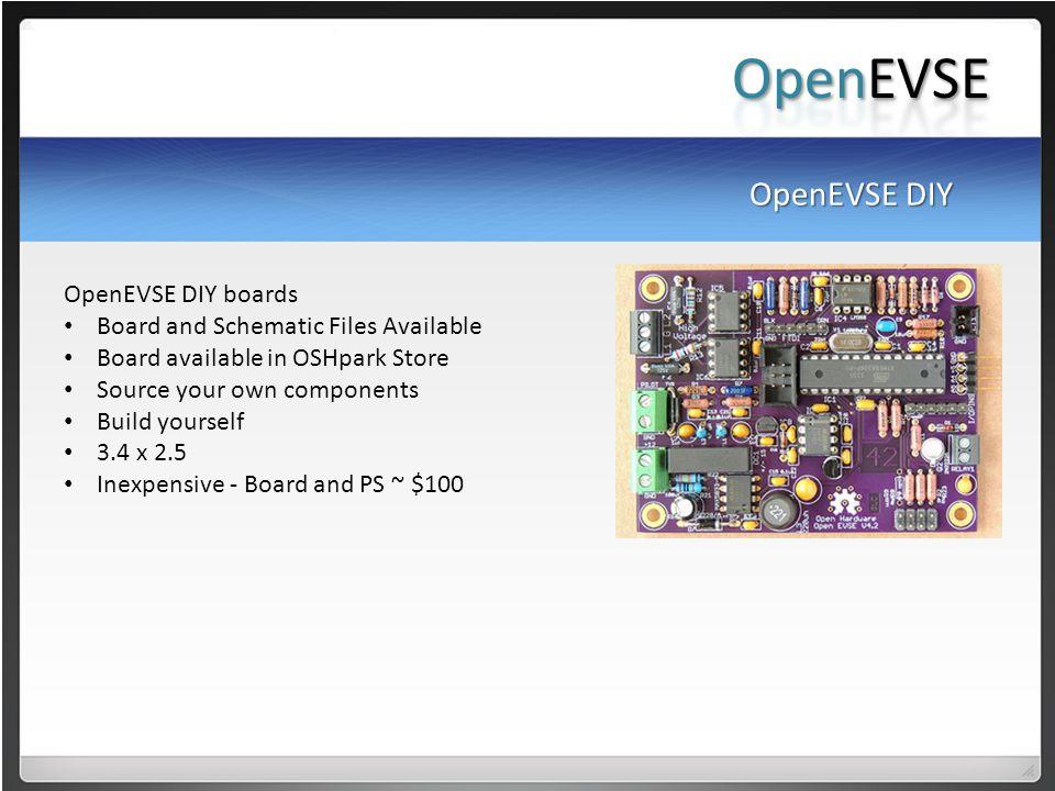OpenEVSE OpenEVSE DIY OpenEVSE DIY boards