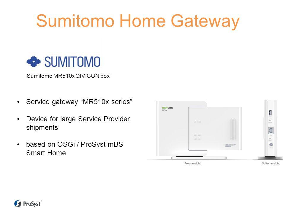 Sumitomo Home Gateway Service gateway MR510x series