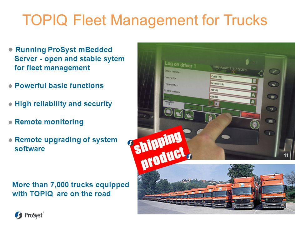 TOPIQ Fleet Management for Trucks